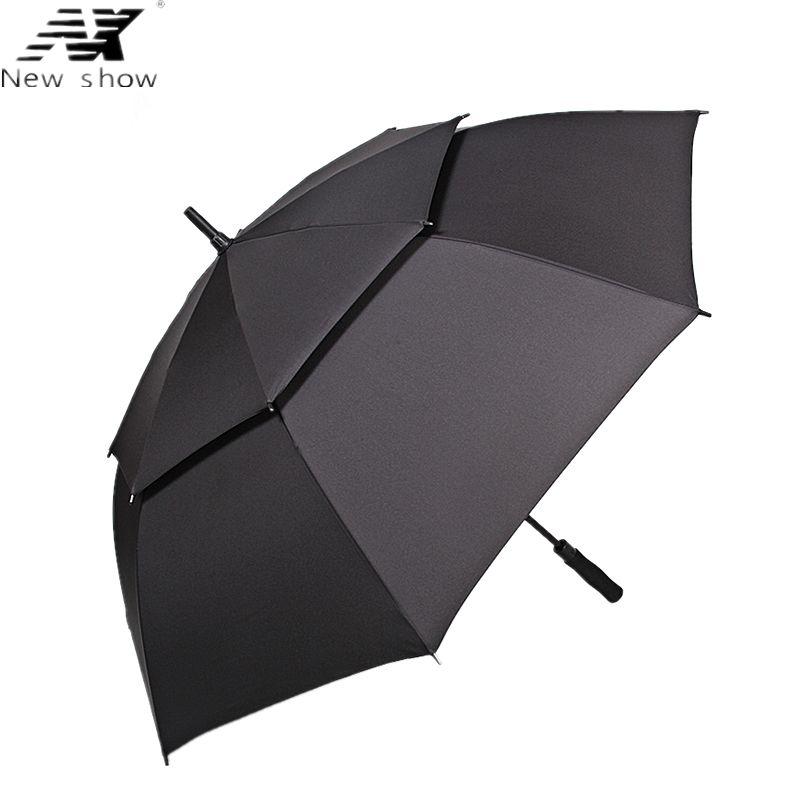 Satın Al Nx Büyük Golf şemsiye Rüzgar Geçirmez çift Katmanlı 135 Cm