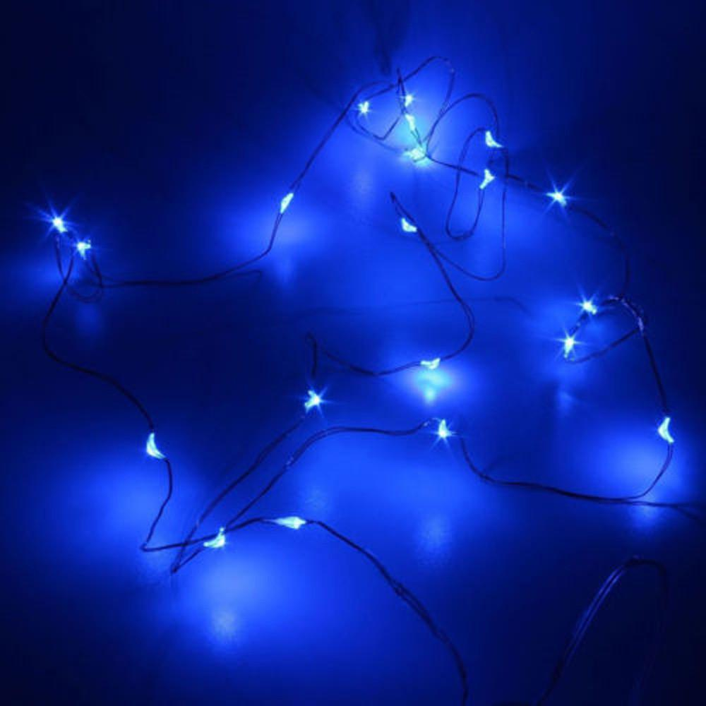 MUQGEW 2M String Fairy Light 20 LED Battery Operated Xmas Lights Wedding Party Xmas Party Garden Decor Trasporto di goccia 2017