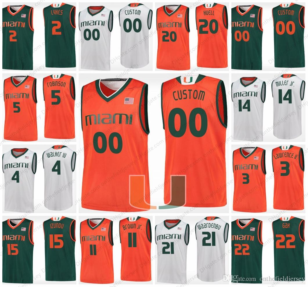 watch 78fde 71bc9 miami hurricanes basketball jersey