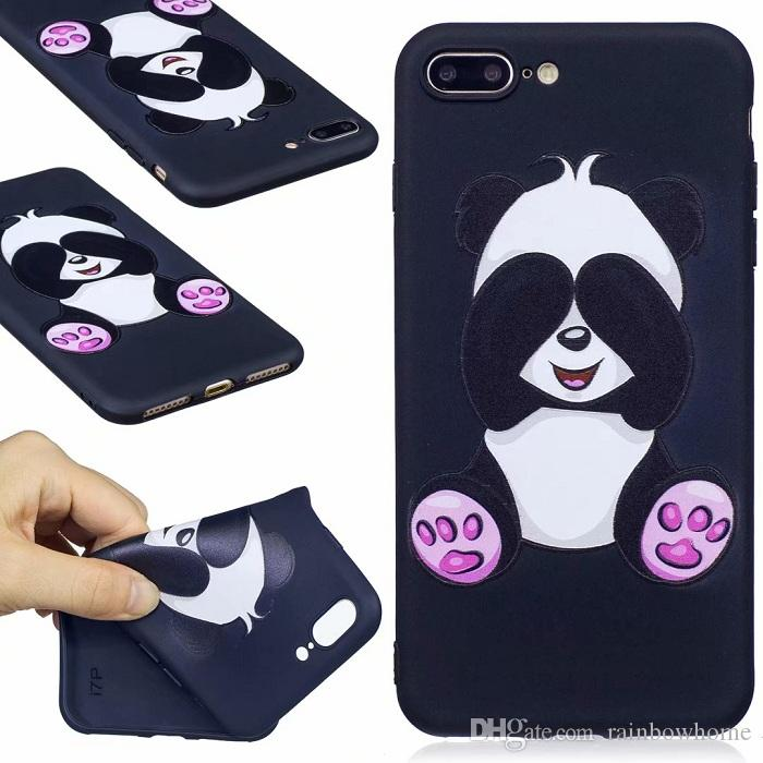 Flower Butterfly Soft TPU Silicone Phone Case Owl Panda Cartoon Cover Phone Skin for iphone XS Max XR X 8 Plus Galaxy S9 Plus Huawei Mate 20