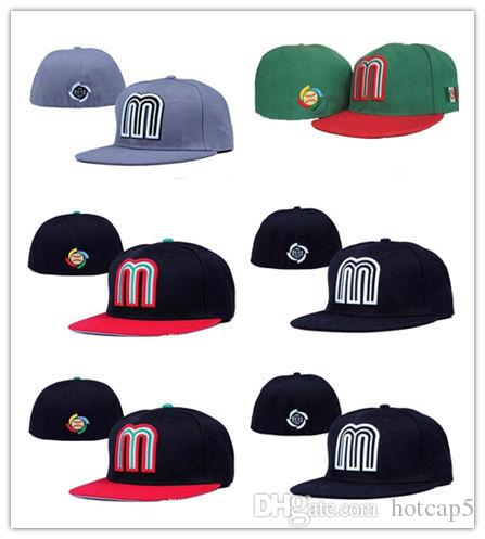 High Quality MLB Mexico Baseball Fitted Cap For Men Baseball Cap Outdoor  Sports Summer Cotton Sun Hat Women Football Hat Richardson Caps Customized  Hats ... ce97c00fdf4