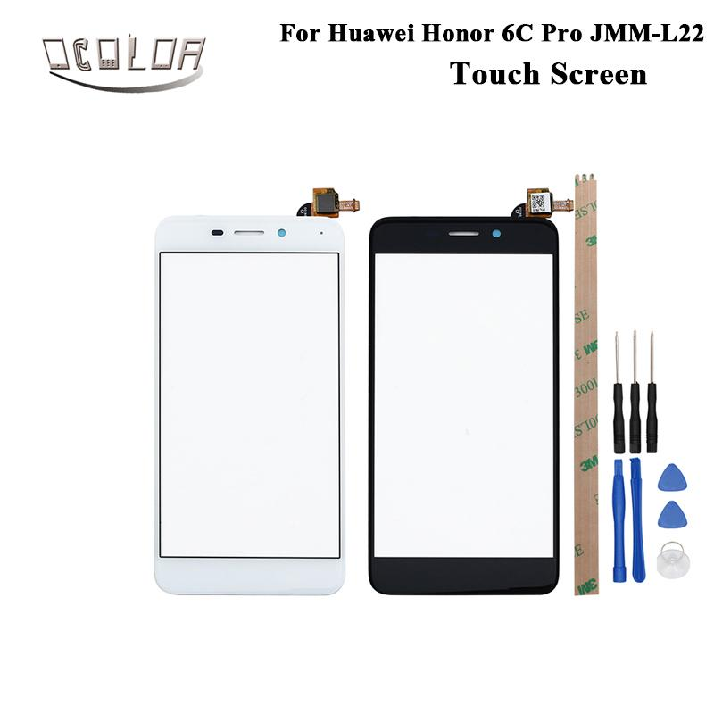 ocolor For Huawei Honor 6C Pro JMM-L22 Touch Screen Lens Sensor Touch Panel  Replacement Mobile Phone Accessories With Tools