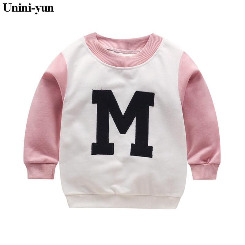 0ab2aa044e94d 2019 2018 New Arrival Baby Girls Sweatshirts Spring Autumn Sweater Cartoon  Pink SMinckys Long Sleeve T Shirt Character Kids Clothes From Askkit