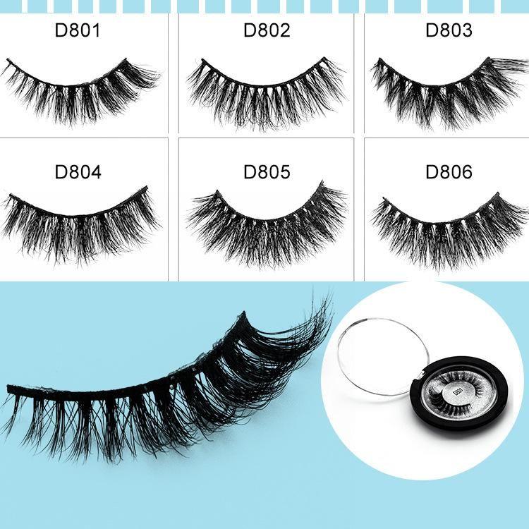 13 Style Natural Makeup 3d Mink Lashes Eyelash Extension Handmade