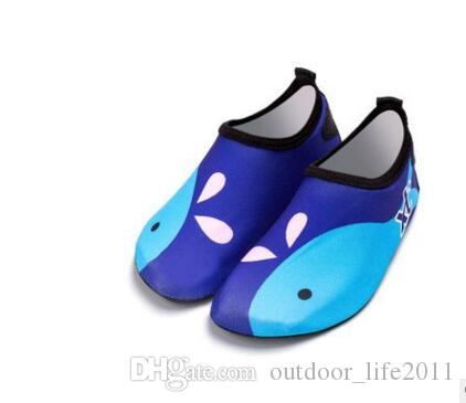 2e75619eea8a 2019 Men Women Summer Childrens Beach Water Shoes Breathable Anti Slip  Quick Dry Aqua Shoes Child Girls Slippers Kids Boy Girl Outdoor SneaEH 381  From ...