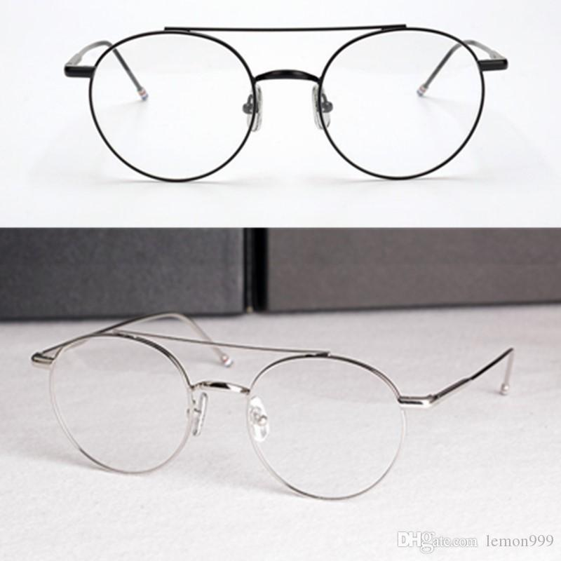 537717eee8 2019 Brand Round Eyeglasses Frames Women Optical Glasses Frame Myopia Glasses  New York Spectacle Frames Reading Eyeglasses Frames With Clear Lens From ...
