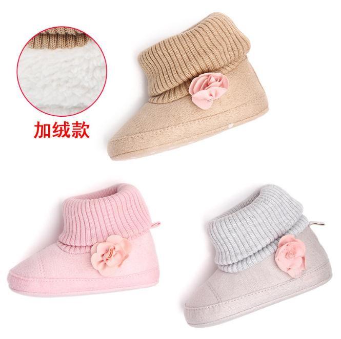 c5de26644 2019 Baby Girl Shoes Autumn Winter Crib Pram Bebe First Walkers Kids ...