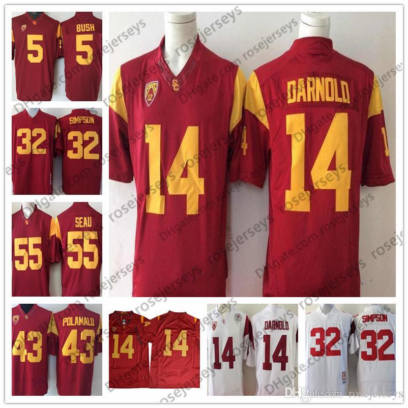 9d6393601 order nike usc trojans mens large ncaa college football jersey 33 46f26  e60c7; authentic best ncaa usc trojans 14 sam darnold 43 troy polamalu 32  oj simpson ...