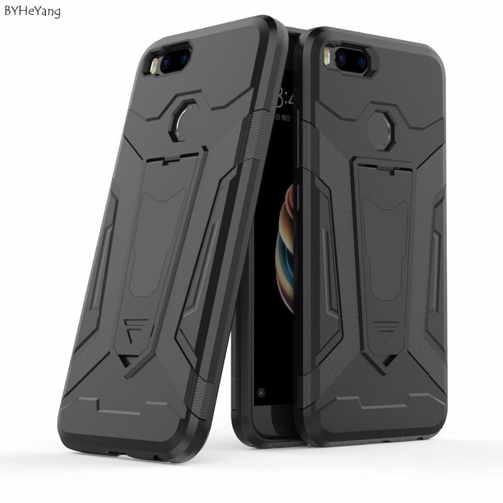 timeless design 7cc59 c7367 For Xiaomi Case Armor Cover Case Shockproof Silicone Hard Back Case For  Xiaomi MiA1 / Mi 5X / Mi5X