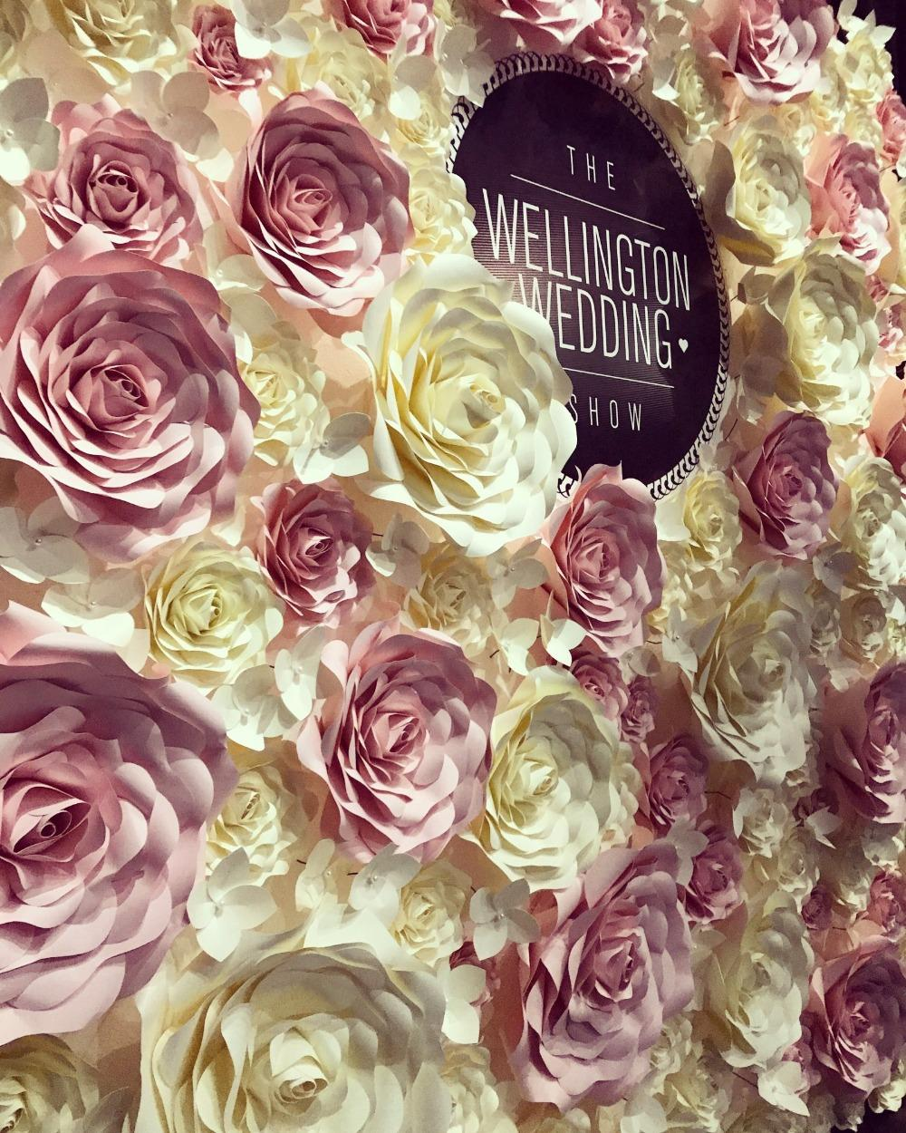 2018 Mix Baby Pink Ivory Giant Paper Rose Artificial Flowers For