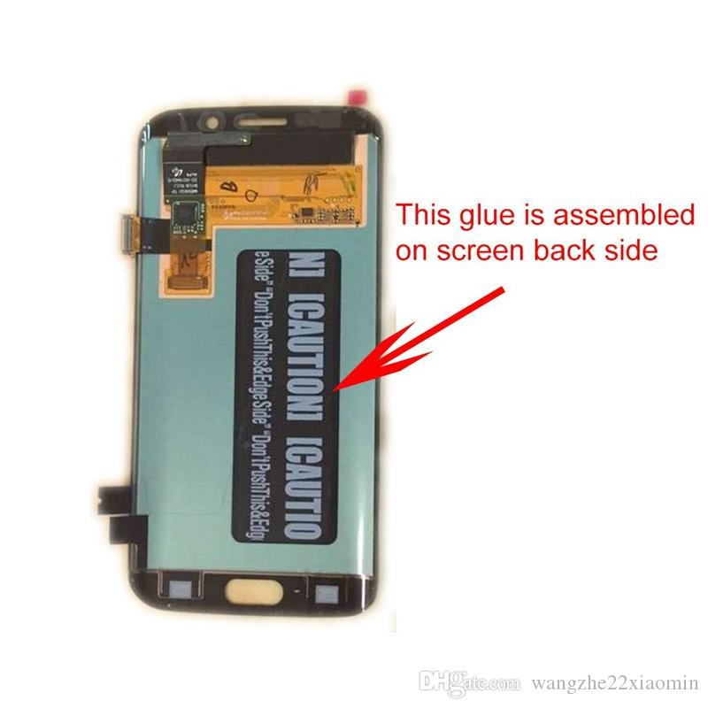 Back LCD Screen Adhesive Glue Tape Sticker Spare Part for Samsung note5 note4 note3 Back Cover Glue