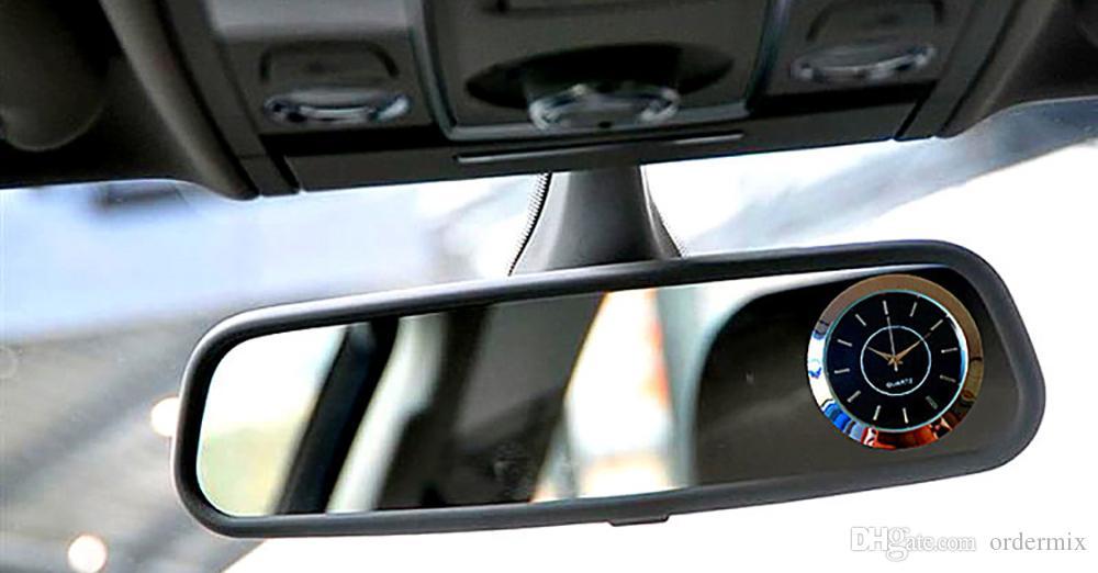 Auto-Verzierungen Auto Air Vents Outlet-Quarz-Taktgeber Clip Automotive Uhr Automobil Innenarmaturenbrett Aufkleben Uhr Zubehör