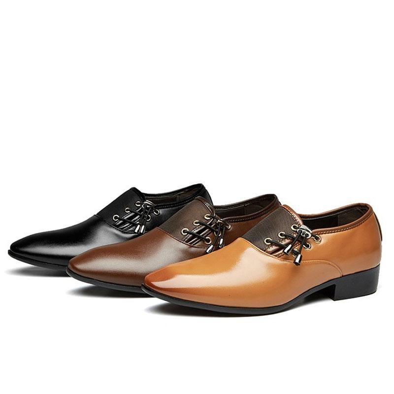 Classique 47 Chaussures 46 Taille Business Hommes Grande Cuir Habillées Véritable Plus Marque Ify6gYvb7