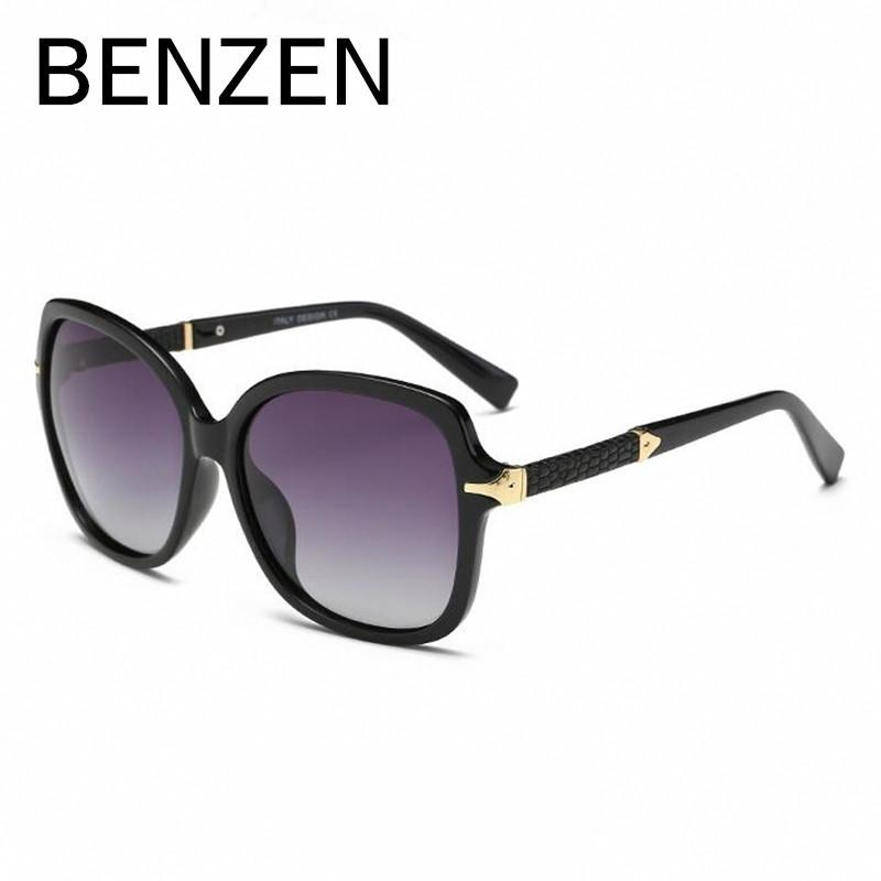 e100c141012 BENZEN Luxury Sunglasses Women Polarized Female Sun Glasses Brand Designer  Ladies Shades Driving Glasses Eyewear With Case 6235 Cat Eye Sunglasses  Round ...
