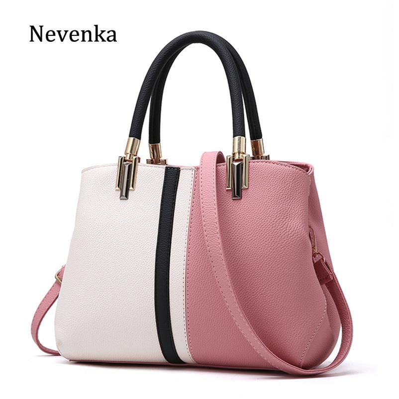 Nevenka Women Handbag PU Leather Bag Brand Tote Female Style Evening Bags  Zipper High Quality Bag Lady Original Design Bags Sac Crossbody Purse  Travel Bags ... 0dc185d1c776b