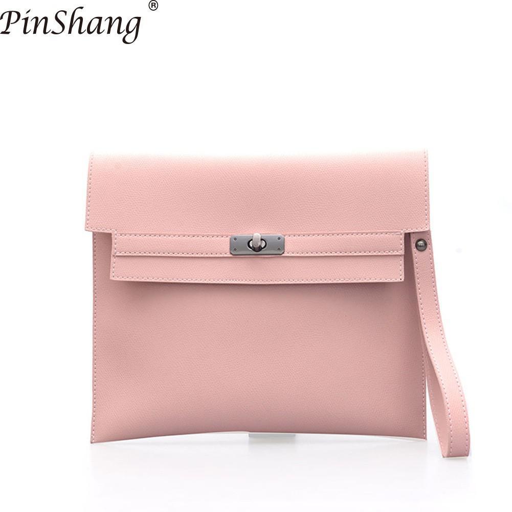 Acquista PinShang Fashion Handbag Retro Folder Briefcase Bag Hand Borsa  Alla Moda In Morbida Pelle PU Uomo Donna ZK40 A  21.11 Dal Lookchill  ad52f3aede9
