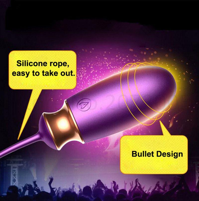 Mini Bullet Heated G-spot Vibrator Wireless Remote Control Anal Plug Bullet Vibrators Eggs Adult Toys for Women Men Prostate Massager A1-75