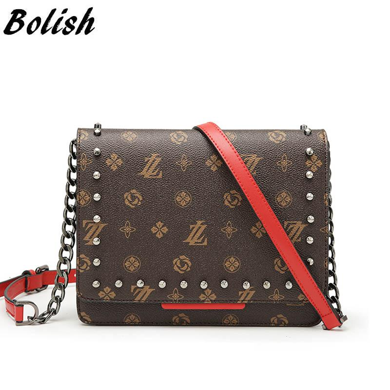 4e01dcf48d98 Bolish Designer Messenger Bag Women Vintage PU Day Clutches Female Luxury  All Match Shoulder Bag Daily Shopping Torebki Damskie Womens Handbags  Toting From ...