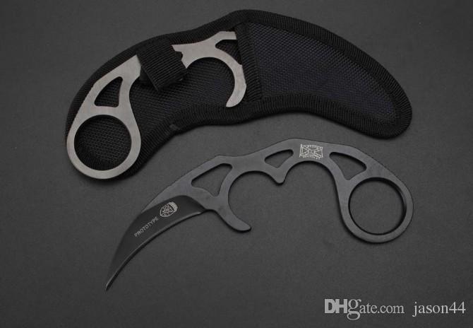 Toptan karambit pençe itme bıçak tactica bıçak karambit Avcılık cep hediye bıçak Ücretsiz kargo