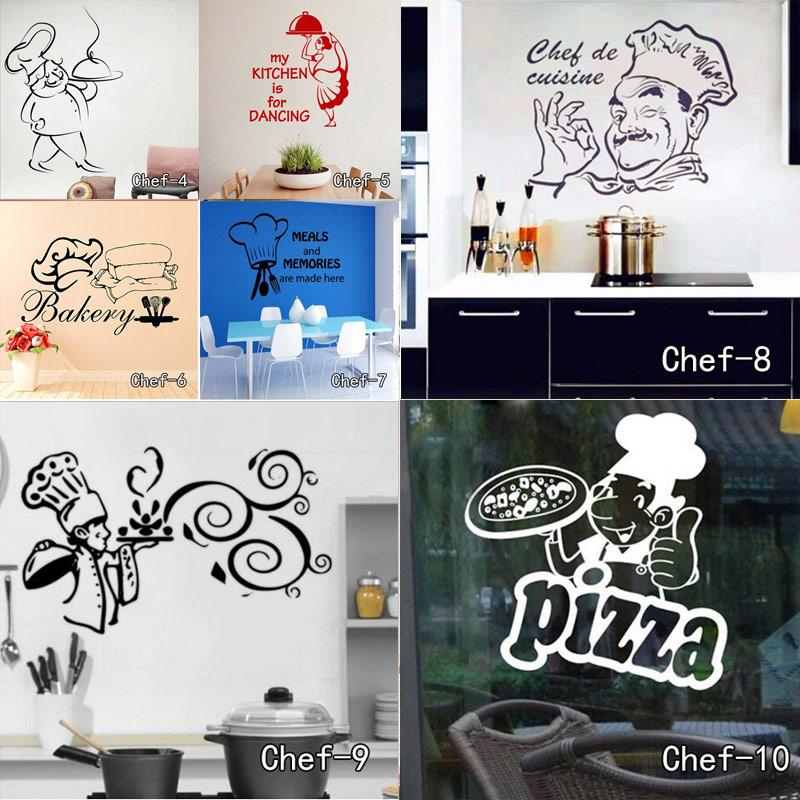 Genial Home Decoration Posters Stickers Kitchen Stickers Chef De Cuisine Removable  Wall Decals Vinyl Wall Art Cuisine Home Decor Vinyl Wall Decoration Decals  Wall ...