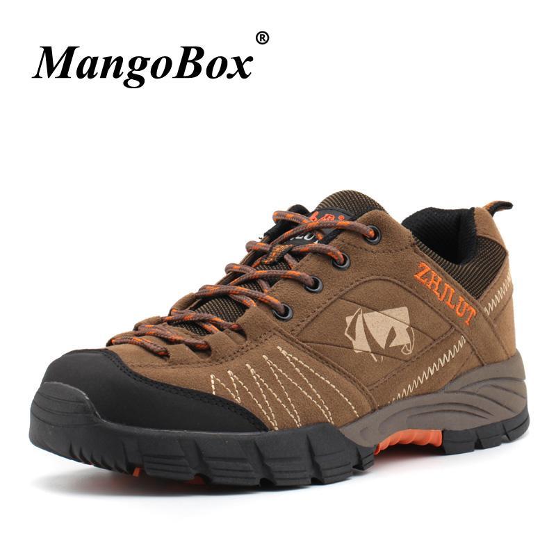 Homme Chaussures Vert Montagne Mâle Brun Sneakers Extérieur Trekking Printemps Randonnée Escalade Tactique Amortissement Été PZiXuOk
