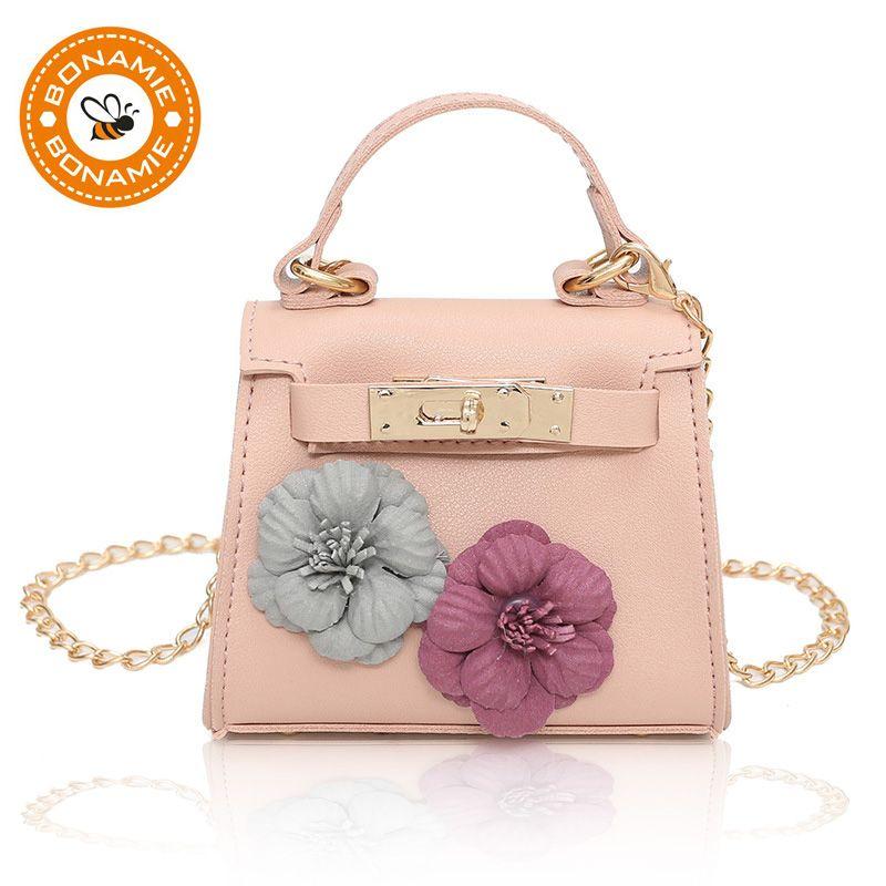 BONAMIE Handmade Flowers Party Evening Handbag Fashion Women Girl ... d882a54088545