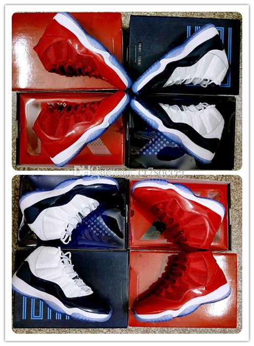 the latest 496f2 edc16 Cheap 11s Gym Red Chicago Midnight Navy WIN LIKE 82 UNC Space Jam  Basketball Shoes 11s Bred 72 10 Sports Shoes Athletics Sneakers Footwear  Shoes For Sale ...