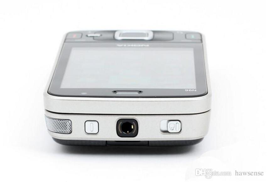 Refurbished Original Nokia N96 Unlocked Slide Mobile Phone 2.8 inch Screen 5.0MP Camera Bluetooth 3G Cheap Old Mobile Phone Free Post