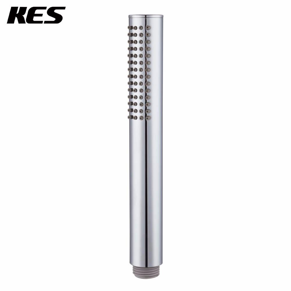 KES Handheld Shower Head, Bathroom Showerhead 8 Inch Brass Chrome ...