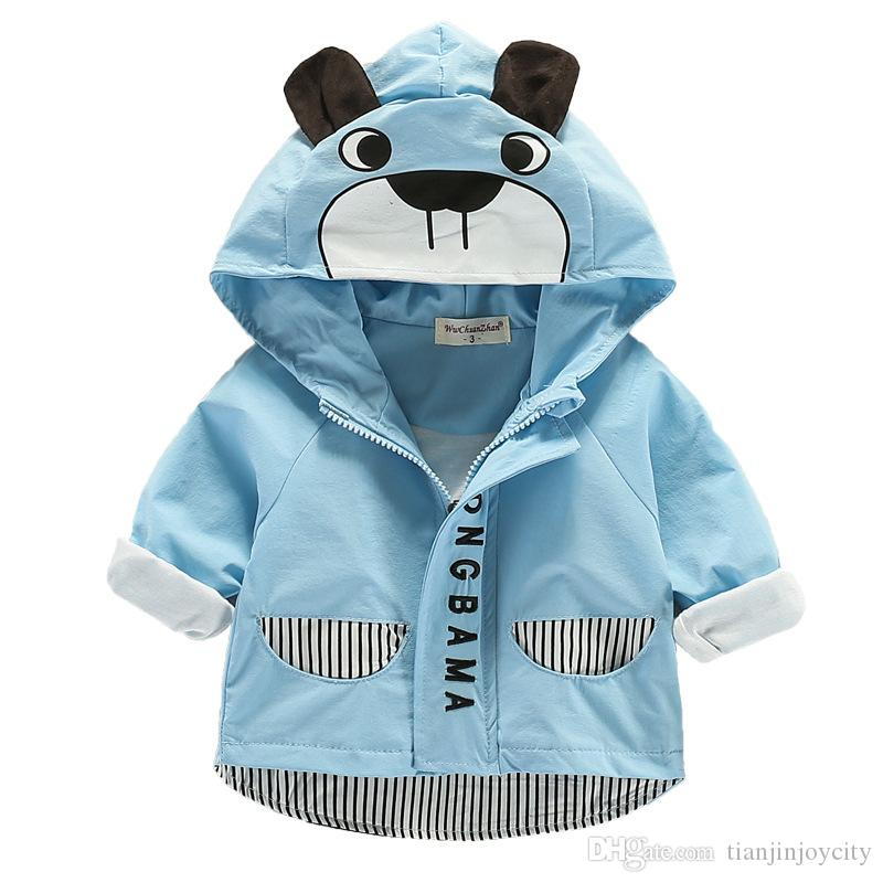 1fde7fe94 Spring Autumn Baby Boys Girls Jackets Infant Blazer Outerwear Rash ...