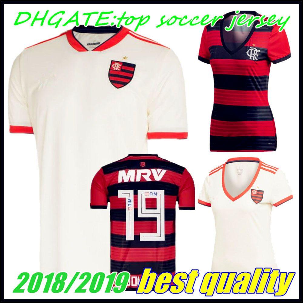 2019 Camisa Flamengo Jersey 2018 2019 Chandal Flamengo Jersey 18 19 Brasil  Flemish Away FEMININA ELANO HERNANE Soccer Jerseys Sports Shirt WOMEN From  ... 98e314355b9de