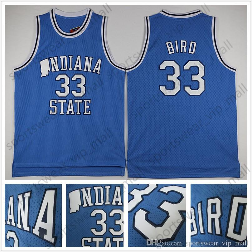 official photos 6abdd 70117 larry bird indiana state jersey for sale