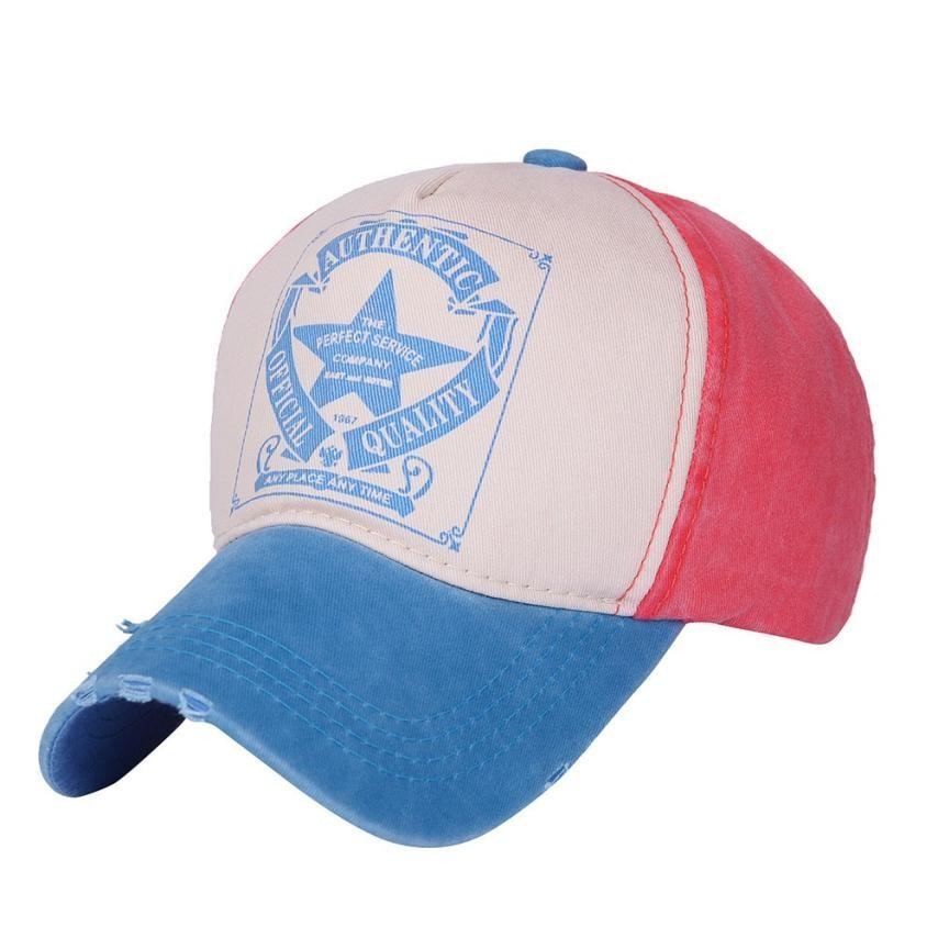 New Fashion Design Men Women Vintage Star Snapback Baseball Ball Cap  Outdoor Sports Hats Adjustable Cotton Wanna Baseball Cap Army Hats Custom  Caps From ... f433090524df