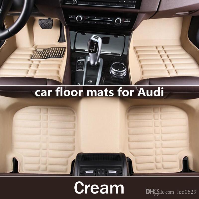2019 Tengrui Car Styling Carpet Custom Car Floor Mats For Audi A1 A3