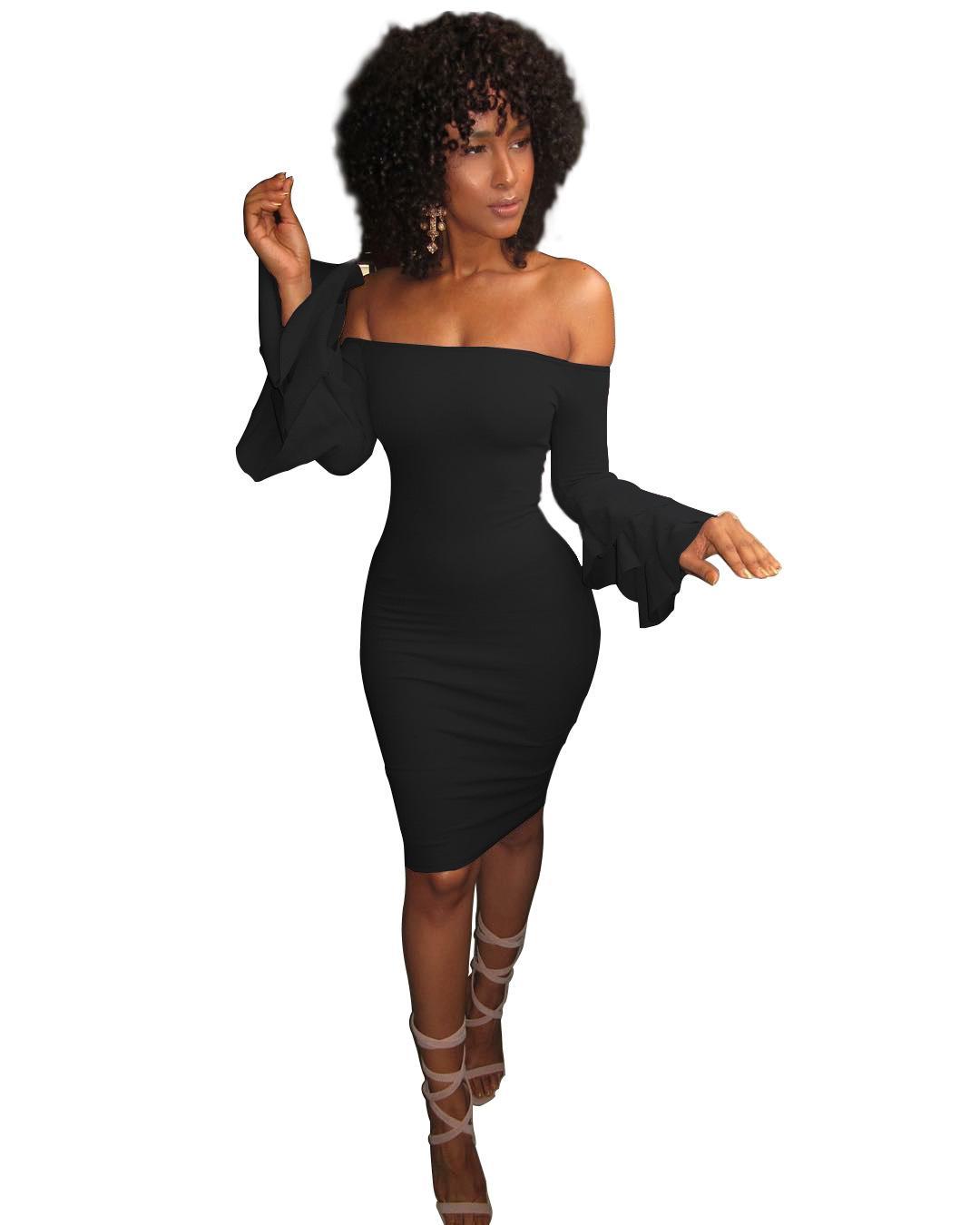 3ae64df3c2699 Satın Al 2018 Yeni Yaz Kadın Elbise Diz Boyu Seksi Bandaj Bodycon Elbise  Kısa Kollu Günlük Elbiseler Sundress Femme D04, $2.02   DHgate.Com'da