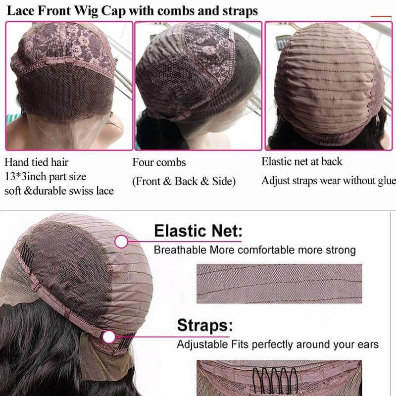 pleine dentelle perruques dentelle avant perruques vague lâche bébé cheveux pré plié naturel perruque perruques léger noeud blanchi