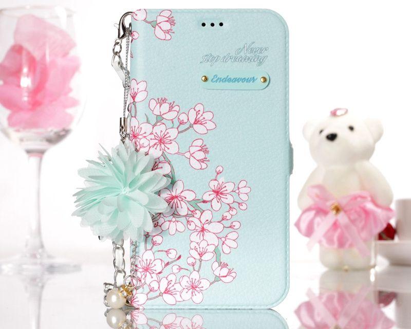 3D Blume Leder Brieftasche Hüllen für iPhone 12 Mini Pro 11 XR xs max x 8 7 6 plus 5 Galaxie S10 S9 Mode Stilvolle Floral ID Karten Slot Flip Cover Halter Pouch Mädchen Dame Strap