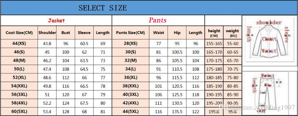 Arm Green Mens Suits for Groom Tuxedos 2018 Notched Lapel Slim Fit Blazer Three Piece Jacket Pants Vest Man Tailor Made Clothing