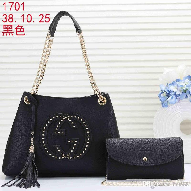 56a6e8ac3350 Brand Hot Sale Messenger Bag BLACK Leather Cross Body Bags Totes ...