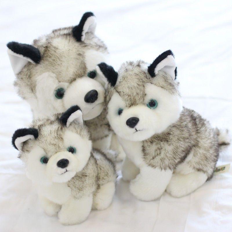 2019 2018 Husky Dog Plush Toys Stuffed Animals Toys Hobbies 7 Inch