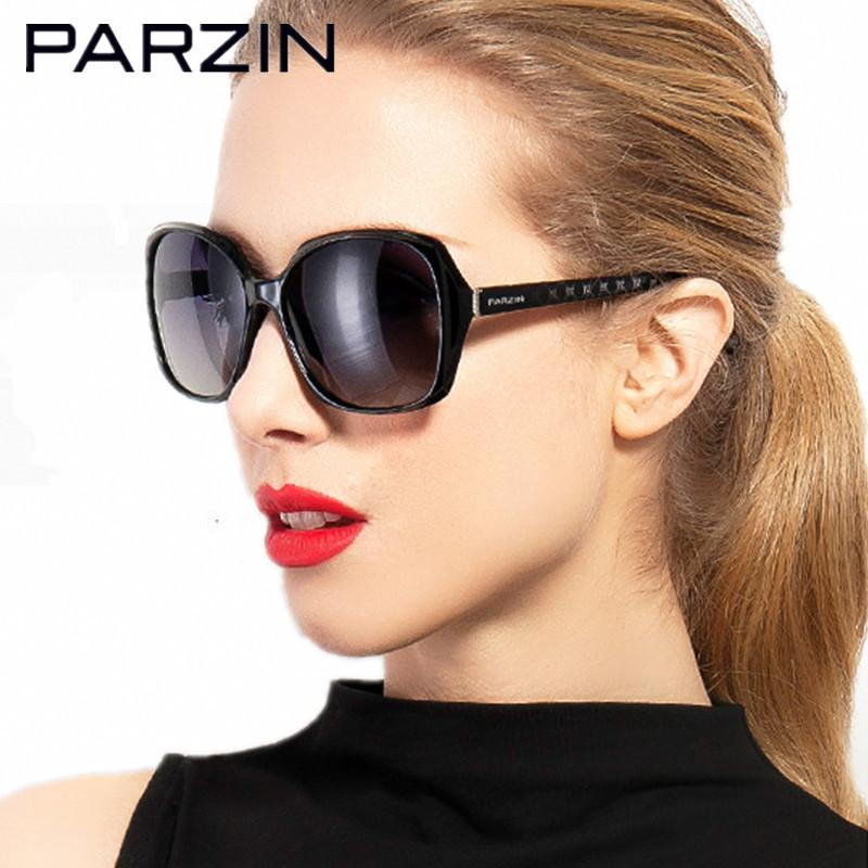 Compre Parzin Polarizada Óculos De Sol Das Mulheres Moda De Grandes  Dimensões Óculos De Sol Feminino Para Condução Oculos De Sol Feminino Com  Case 9501 De ... 8d03dcc8cb