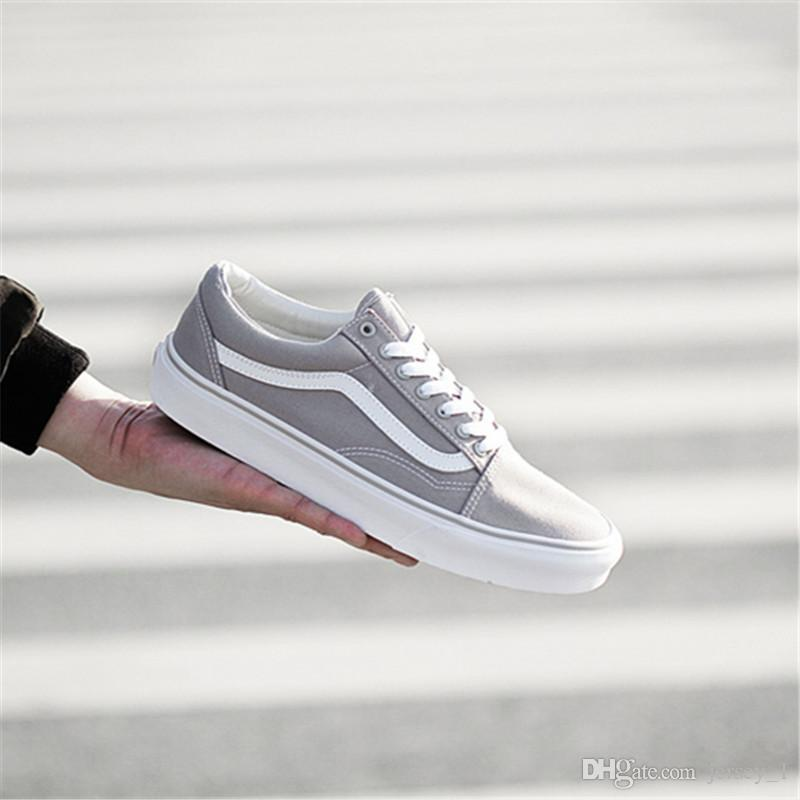 VANS old skool Low-top Unisex Women Men Skateboarding Shoes OldSkool sunblock Sports Shoes Old Skool Canvas Shoes size 35-44 discount original fashionable cheap online free shipping official 2014 new cheap price outlet Cheapest 3AbSX