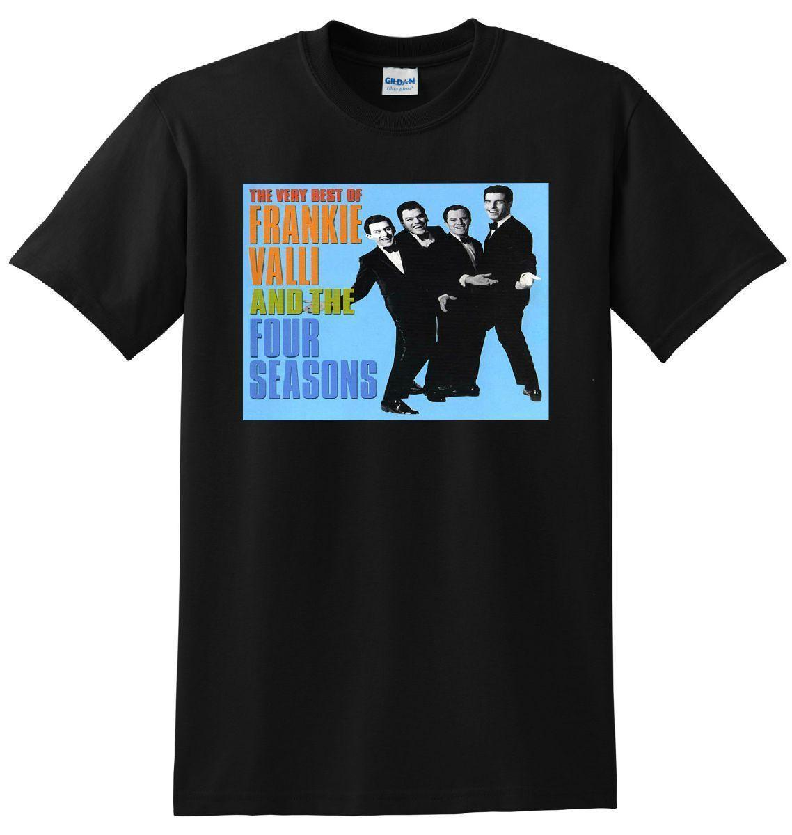 FRANKI VALLI AND THE FOUR SEASONS T SHIRT vinyl cd cover SMALL MEDIUM LARGE XL