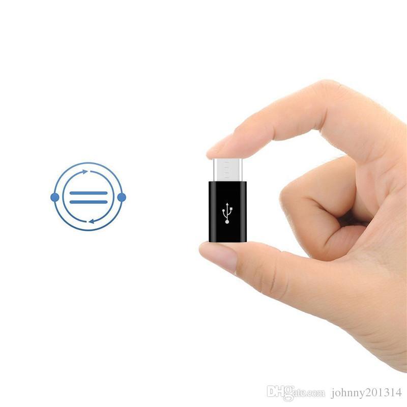 Adaptador Micro USB a USB 3.1 Tipo C C OTG adaptador convertidor para Samsung Nexus S8 Xiaomi 4C x5 Huawei Mate9