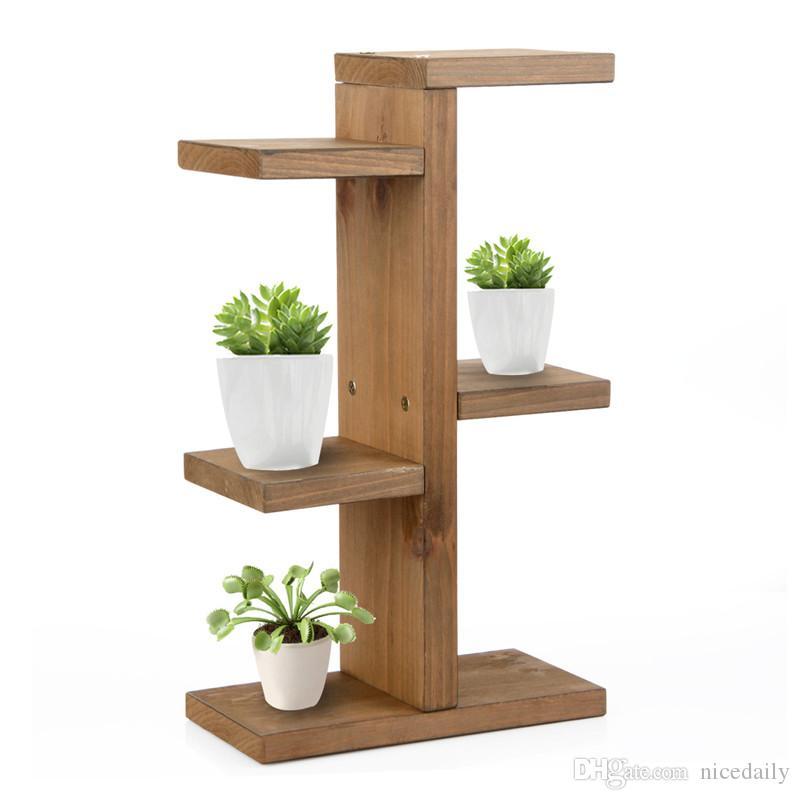 Compre estante de almacenamiento soporte para mini - Madera para estantes ...