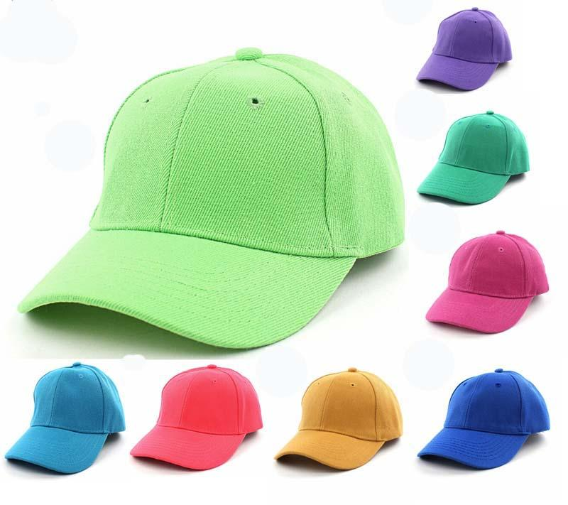 dc7370b5 NEW Kids Plain Baseball Cap Adjustable School Girls Boys Junior Childrens  Hat Summer Custom Trucker Hats Compton Cap From Tonic, $56.71| DHgate.Com