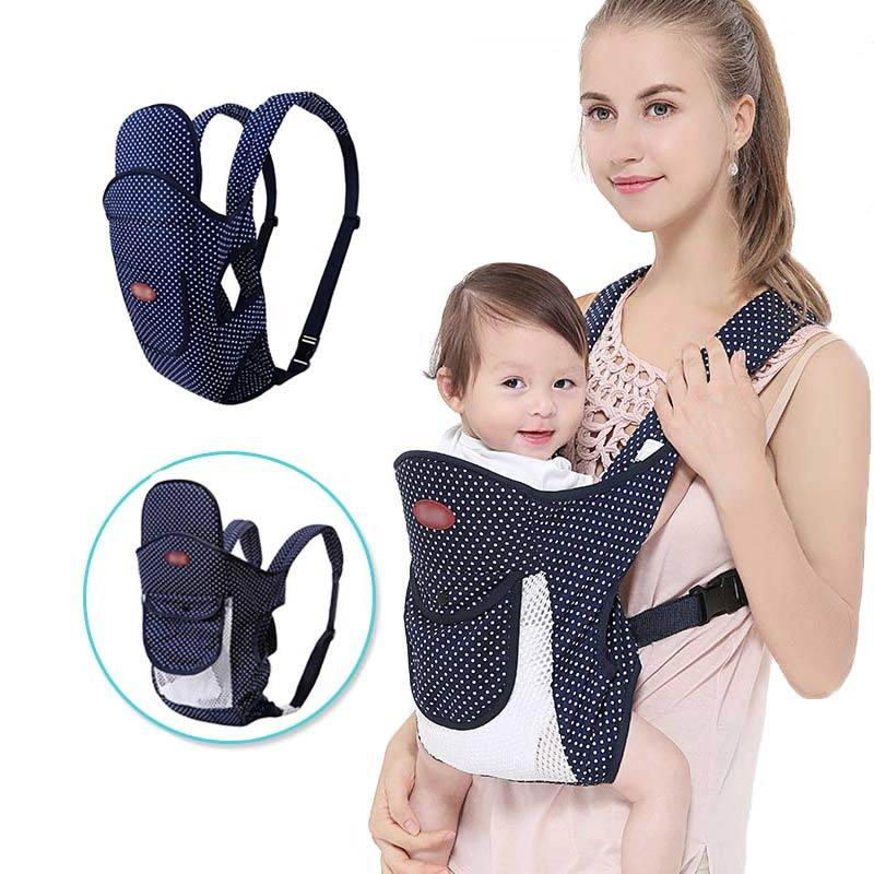 fc5bc1396f7 2018 Multipurpose 4 In 1 Baby Carrier Front Face Ergonomic Baby Backpack  Breathable Infant Wrap Sling Kangaroo Pouch 0 36 Months From Cassial