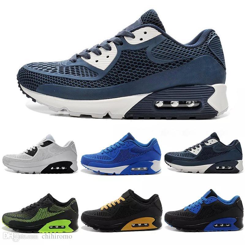 nike air max 90 airmax 2018 vendita calda cuscino 90 scarpe da corsa uomini 90 di alta qualità nuove scarpe da ginnastica economici scarpe sportive
