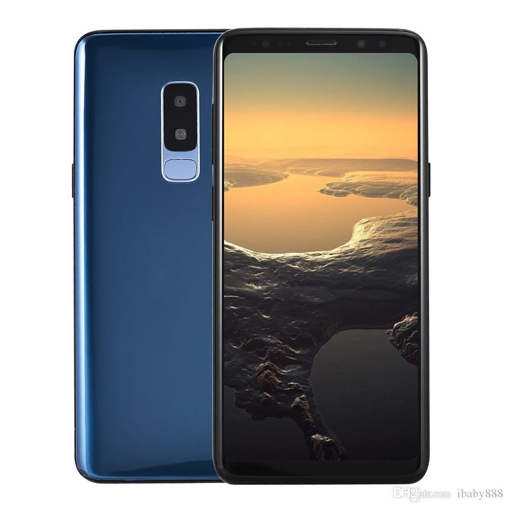 5e08e2cf0 6.2 inch Full Screen Goophone S9+ Plus Clone 3G WCDMA Quad Core MTK6580 1GB  4GB Android 7.0 GPS Dual Nano Sim Card 13.0MP Camera Smartphone