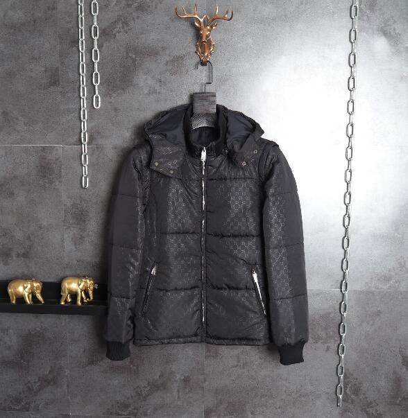 4d36debc1449 Acquista Miglior Moda Stilista Di Marca Di Lusso Abbigliamento Uomo Manica  Staccabile Verso Il Basso Tutte Le Lettere Giacca Da Uomo Di Alta Qualità  Moda ...